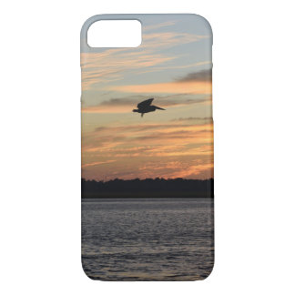 Bird Flying Over A Lake iPhone 8/7 Case