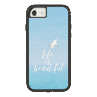 Bird Flying over Ocean in Hawaii Inspirational Case-Mate Tough Extreme iPhone 8/7 Case