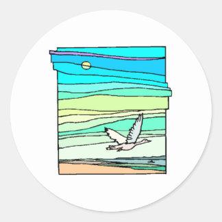 Bird Flying Stickers