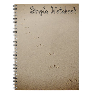 Bird Footprints Notebook