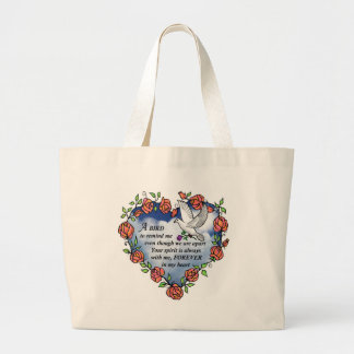 Bird from Heaven Tote Bags