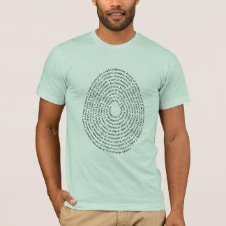 Bird Group Names In An Egg Shape T-Shirt