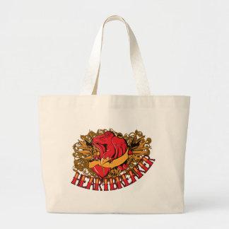 Bird ~ Heart Breaker Customize Gift Template Jumbo Tote Bag
