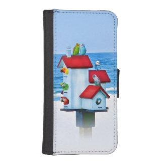 Bird House Full of Birds iPhone 5 Wallet Case