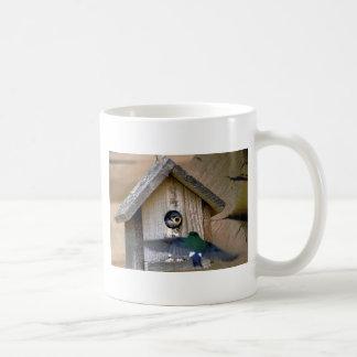 Bird house coffee mugs