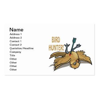 Bird Hunter Business Card Template