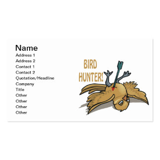 Bird Hunter Pack Of Standard Business Cards