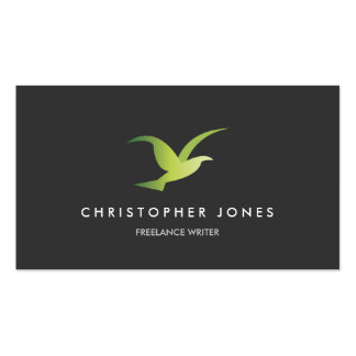 BIRD IDENTITY BUSINESS CARD FOR AUTHORS, WRITERS