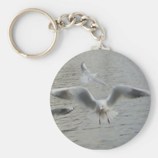 Bird in Action Key Chain