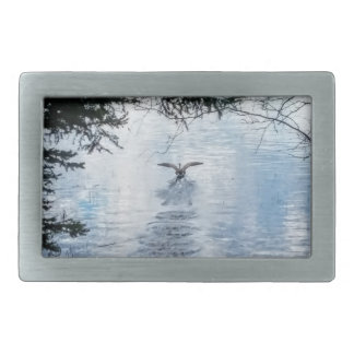 BIRD IN FLIGHT BELT BUCKLE