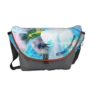Bird in Flight- Messenger Bag