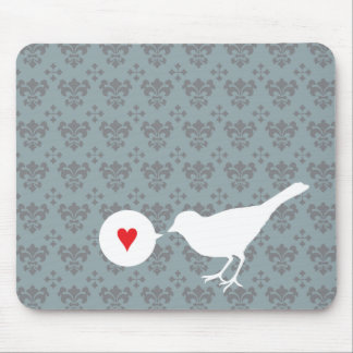 Bird in Love mousepad