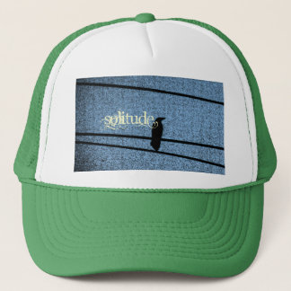 Bird in Solitude Trucker Hat
