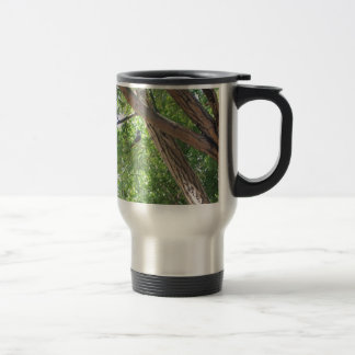 Bird in the Branches Stainless Steel Travel Mug