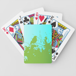 Bird in the Bush Bicycle Playing Cards