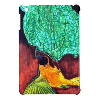 Bird Knitting Nest iPad Mini Cases