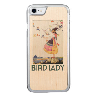 Bird Lady Carved iPhone 8/7 Case