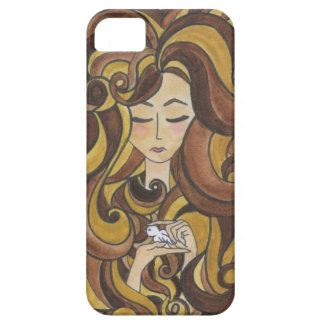 Bird Lady iPhone Case iPhone 5 Cover