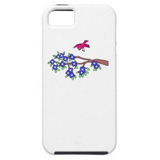 Bird Landing On Branch iPhone 5 Covers