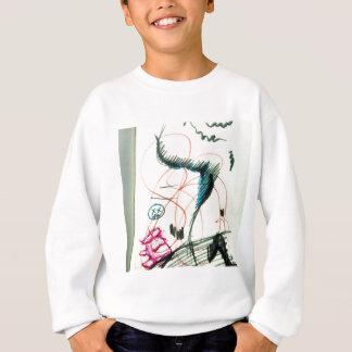 Bird Line and the Dancing Pen Sweatshirt