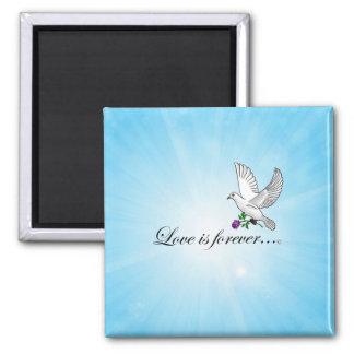 Bird LOVE Is Forever Fridge Magnets