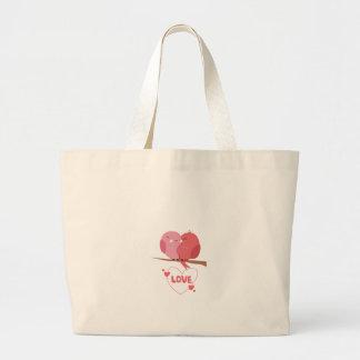 Bird Love Large Tote Bag