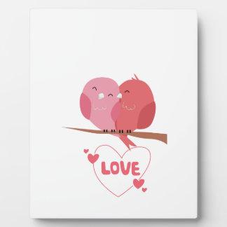Bird Love Plaque
