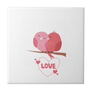 Bird Love Tile