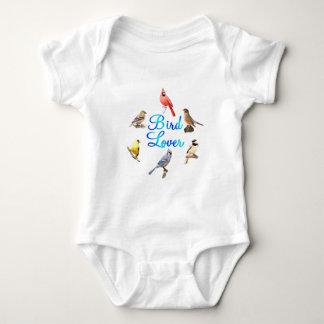 Bird Lover Baby Bodysuit