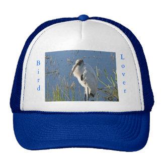 Bird Lover- Wood Stork Cap