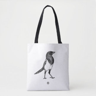 Bird - Magpie - Elster Bag