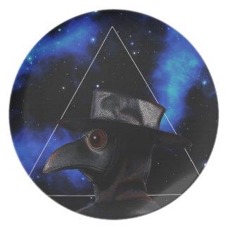 Bird-man Plate