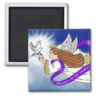 Bird Memorial Angel Fridge Magnet