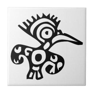 Bird, Mexican hieroglyph(Maya) Tile