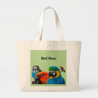 Bird Mom Jumbo Tote Bag