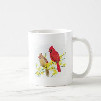 Bird Mug - Cardinals