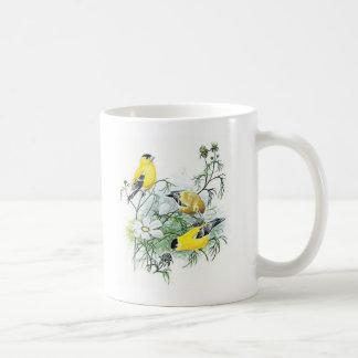 Bird Mug - Goldfinch