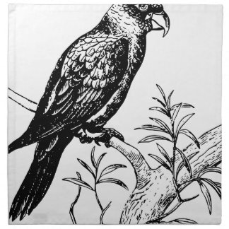 Bird Napkin