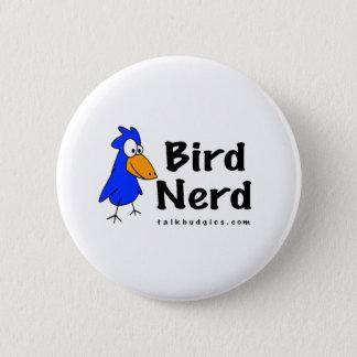 Bird Nerd 6 Cm Round Badge