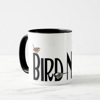 Bird Nerd Design Mug