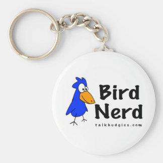 Bird Nerd Key Ring