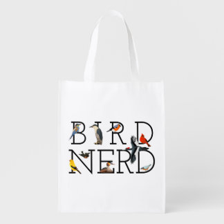 Bird Nerd Reusable Grocery Bag