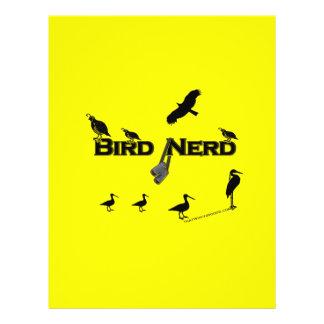 Bird Nerd Silhouette 21.5 Cm X 28 Cm Flyer