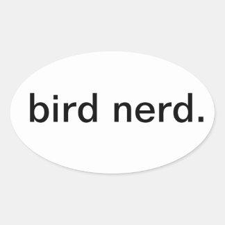 bird nerd. stickers
