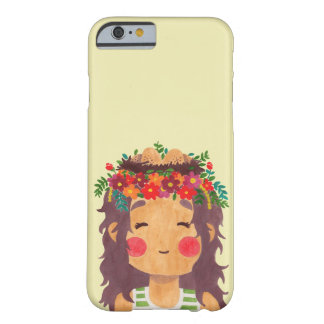 Bird Nest Girl in the Spring Season Barely There iPhone 6 Case