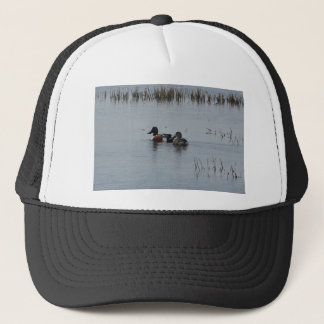 Bird Northern Shoveler Duck Nature Trucker Hat