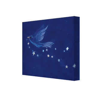 Bird Of Hope Canvas Print