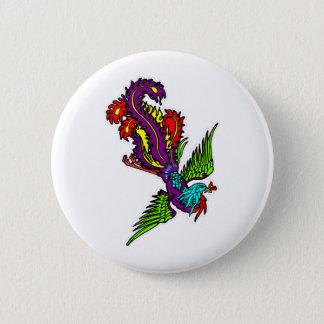 Bird Of Paradise 6 Cm Round Badge
