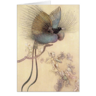 Bird of Paradise by Artist Warwick Goble Card