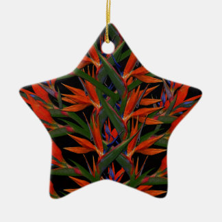Bird Of Paradise Ceramic Ornament